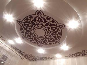натяжной потолок фото